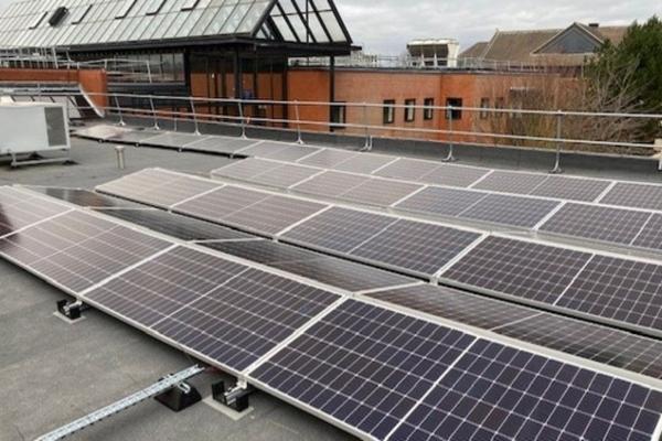 UK government department inaugurates £1.1m solar power installation