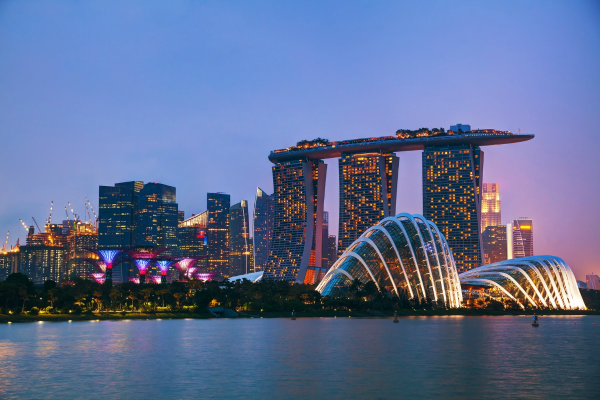 Singapore has 93 per cent fibre-to-the-home and 100 per cent 4G coverage