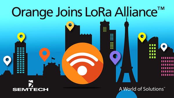 Orange joins LoRa Alliance Board