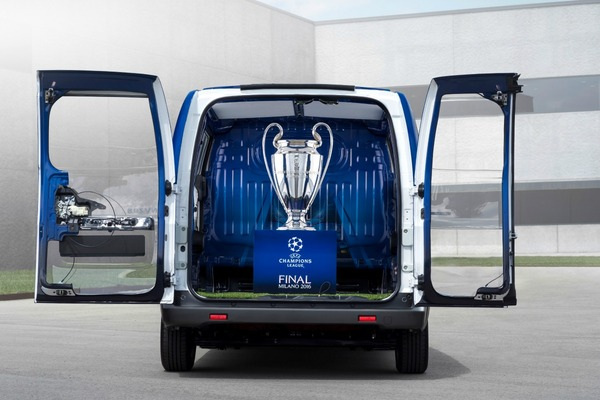 Nissan out to electrify the UEFA Champions League Final