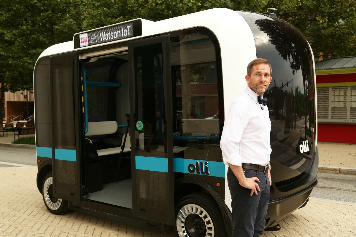 Olli, which can interact with passengers, has already been used on public roads in Washington DC