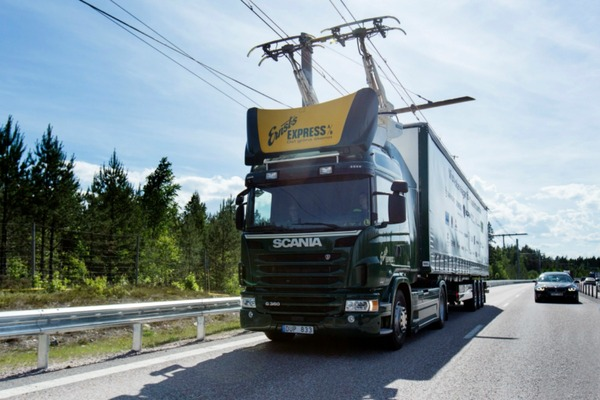 Swedish road freight goes electric on the eHighway