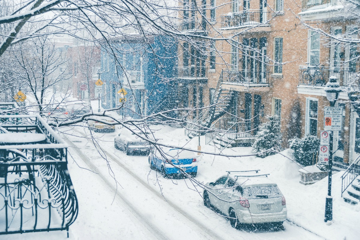 Snow sensors will be integrated to notify authorities when streets need clearing