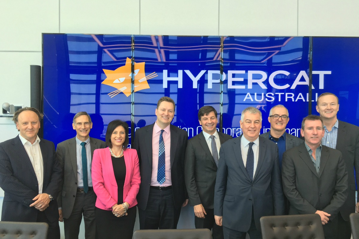 The launch of Hypercat Australia, which aims to help establish a global standard