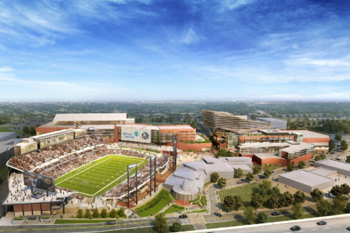 Sport and entertainment's smart first in Canton, Ohio