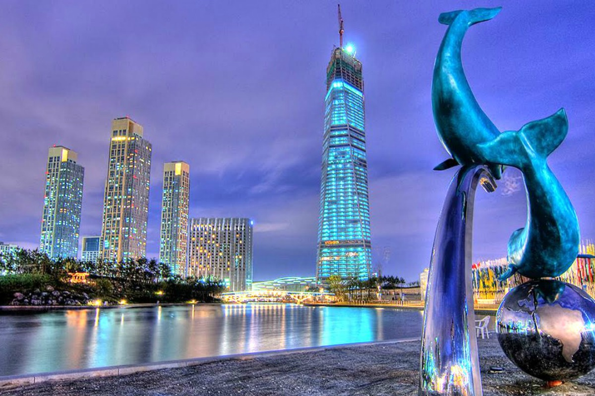 The smart city Songdo will be host to the IoT accelerator programme