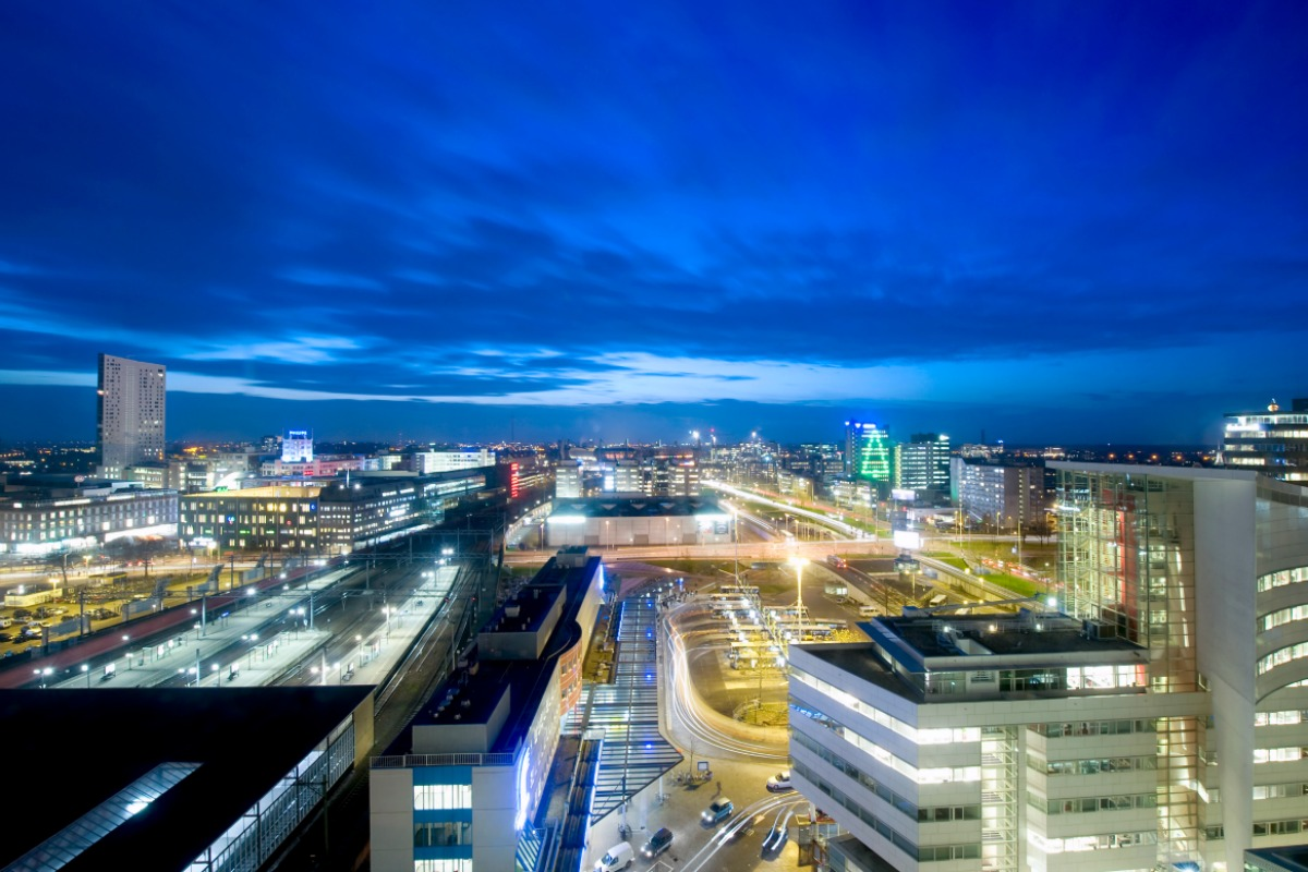 The lighting infrastructure will play a key part in making Eindhoven smart