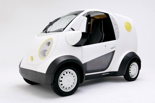Honda and Kabuku unveil 3D printed micro car