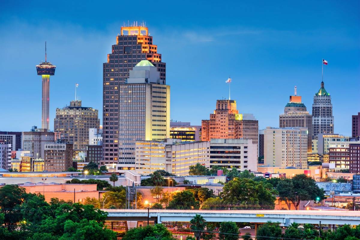 San Antonio is home to 1.4 million people and almost 1,400 traffic intersections