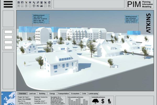 Atkins to build digital urban planning tool