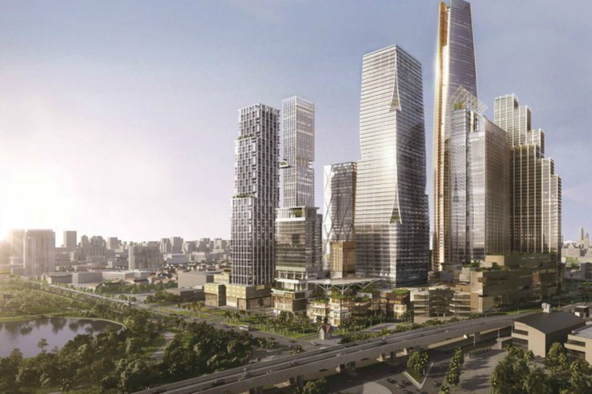 It is hoped One Bangkok will position the Thai capital as a key gateway city in Asia