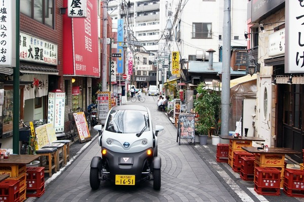 New EV car sharing service launched in Japan