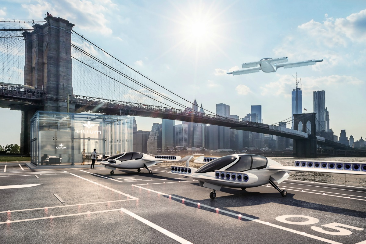The Lilium Jet could increase the radius of living by 5x, says its makers