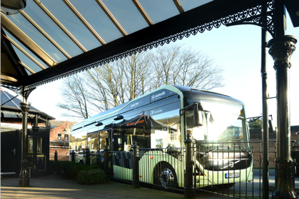 Opportunity charging first for UK buses