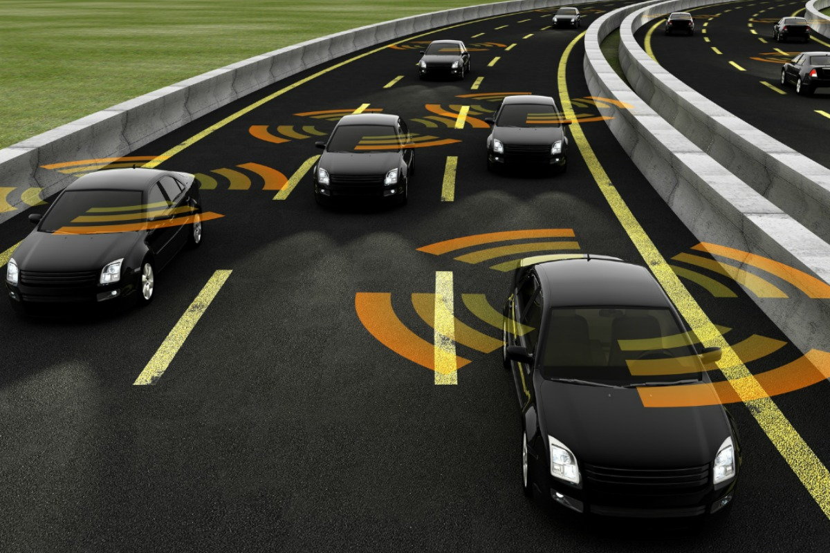 Vehicle-to-vehicle enables real-time short-range communication between vehicles