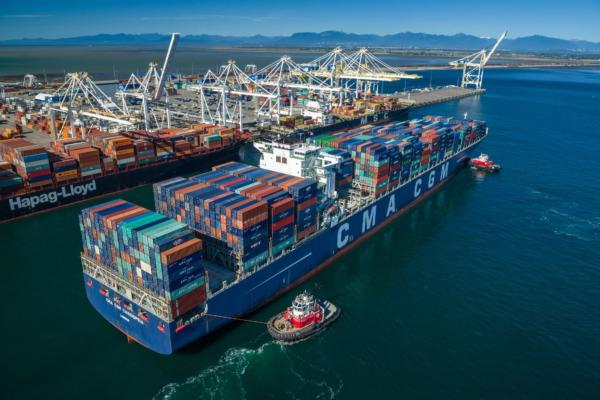Shore-to-ship energy for Canadian port