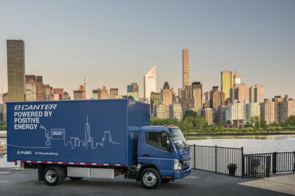 World's first series-produced e-truck