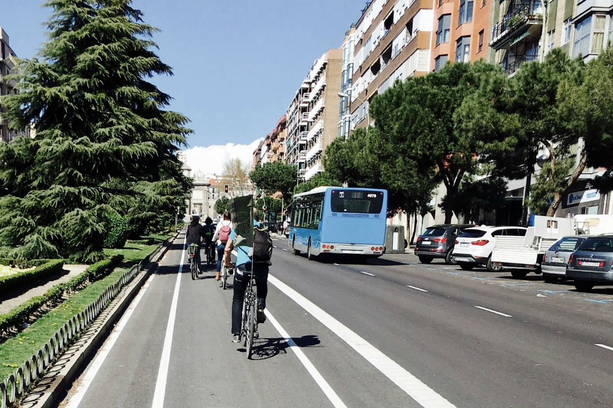 Madrid is looking to reduce the size of the road network within the city