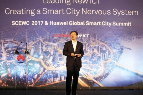 "Huawei unveils smart city ""nervous system"""