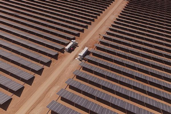 Solar solution for Chilean desert