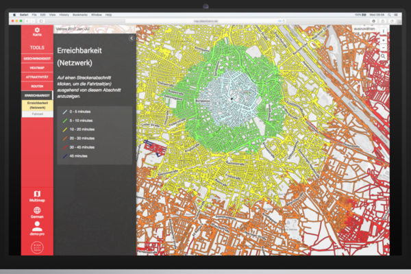New tool to help urban planners with cycle route design