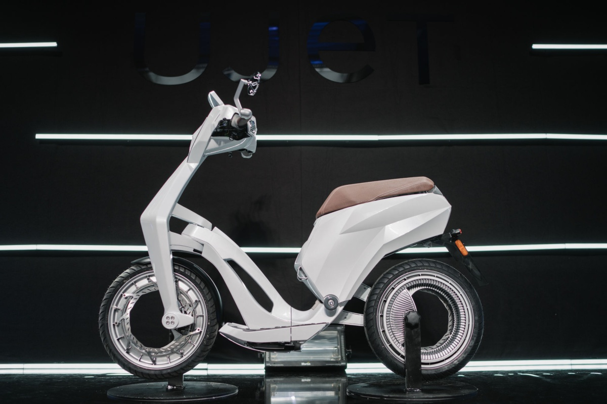E-scooter aims to contribute a new mobility concept to sustainable cities
