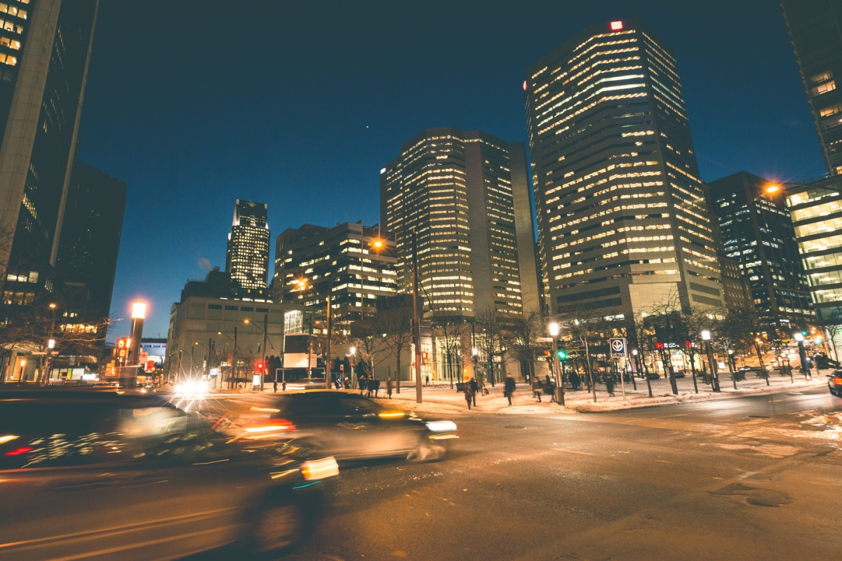 The city of Montreal is hosting the global transportation conference, ITS World Congress