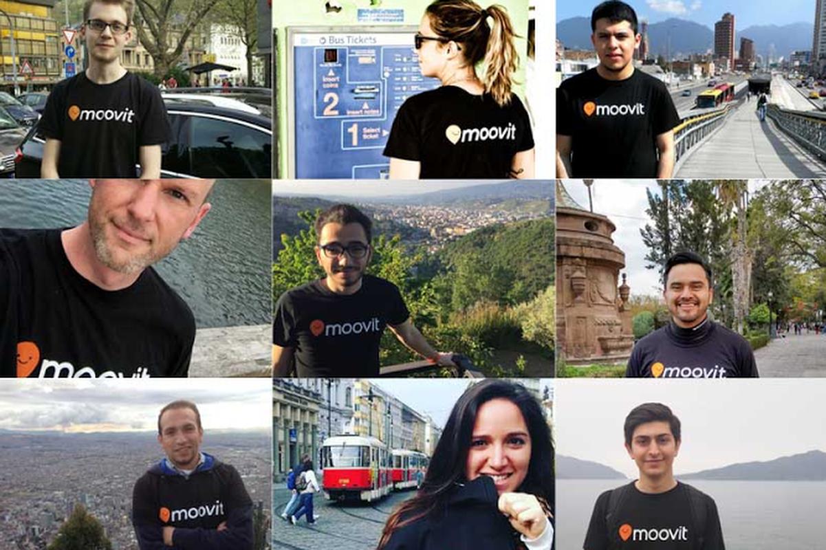 Moovit's editors around the globe