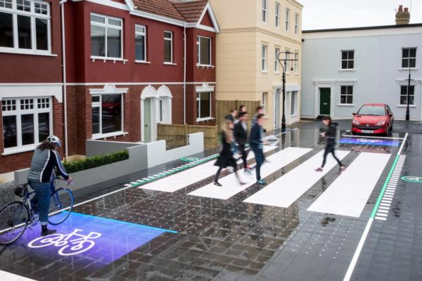 Street crossing of the future