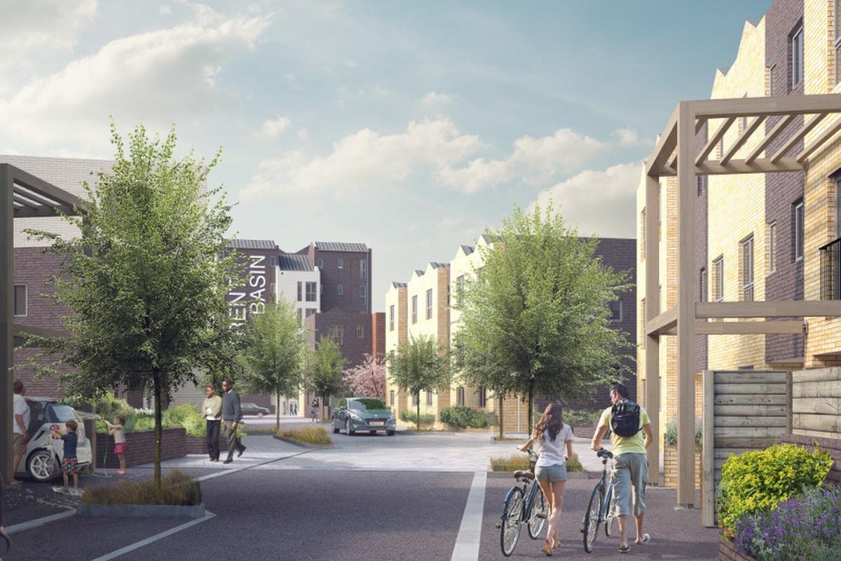 New housing development in Nottingham'sTrent Basin