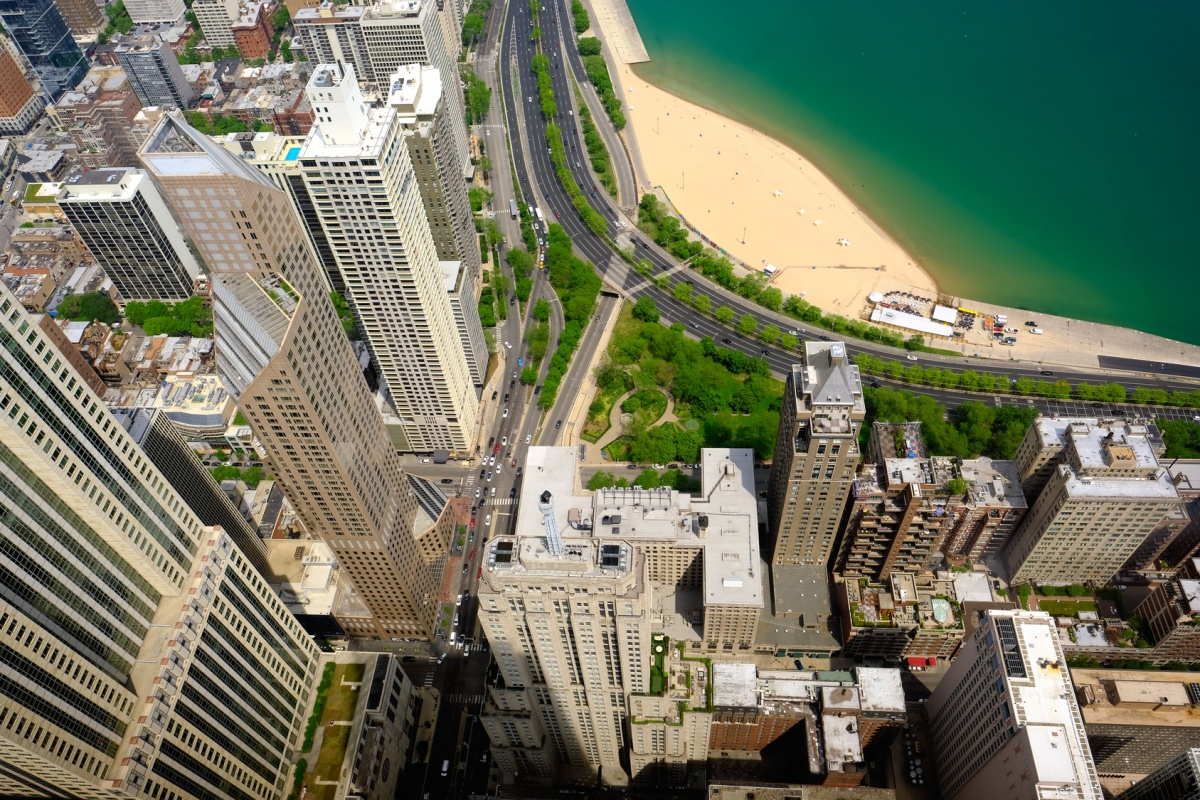 The study took data from residential towers and low-rise homes in the Chicago area