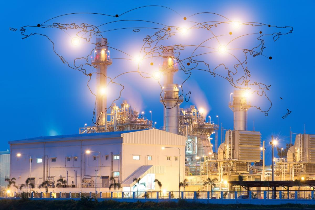 Companies in the oil and gas industry are the most advanced with their strategies