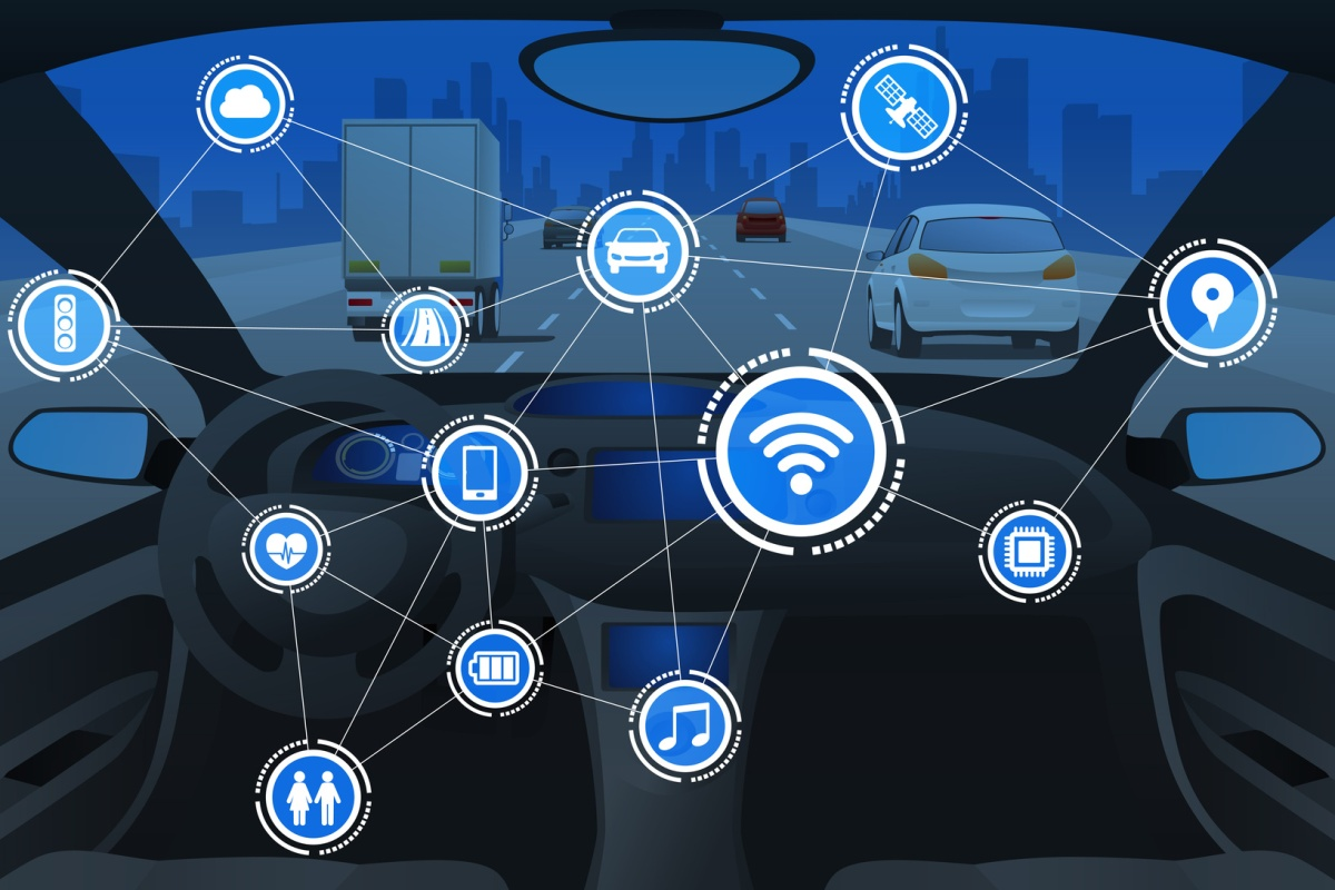 The connected car platform links drivers to their vehicles, and vehicles to networks