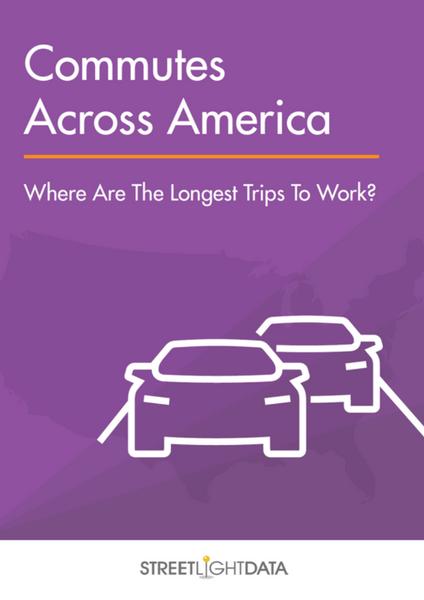 Smarter Commutes - Streetlight Data