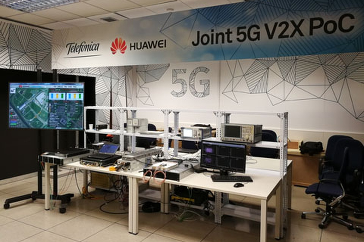 Proof-of-concept test took place at Huawei and Telefónica's joint innovation lab