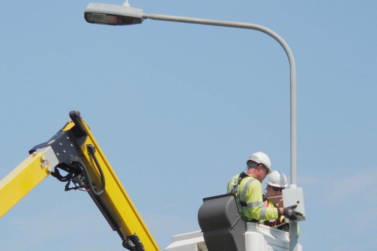 The councils want to harness the power of their county-wide lighting networks