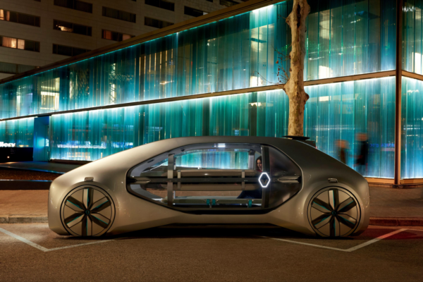 Renault unveils a shared and autonomous urban future