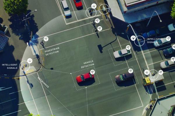 Detroit unveils its smartest intersection