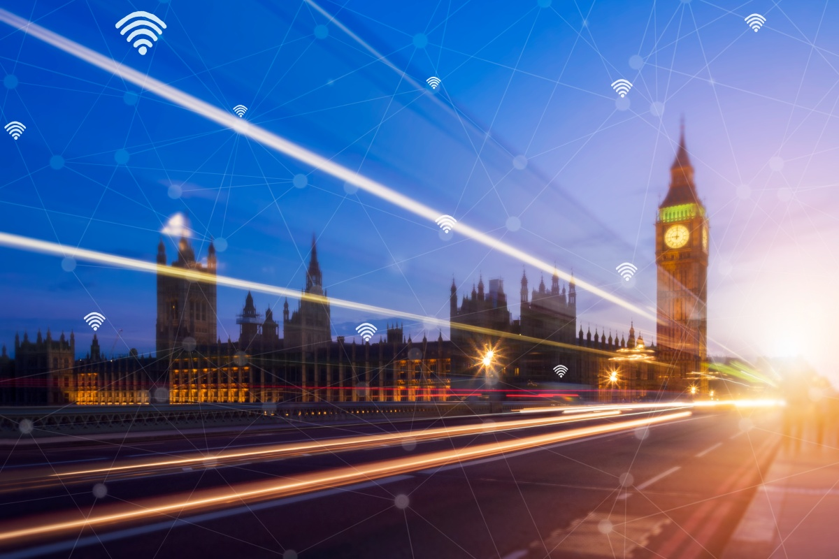 London has around 700 people per public wi-fi hotspot