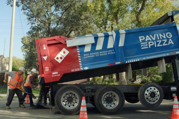 Domino's paves the way for its pizzas