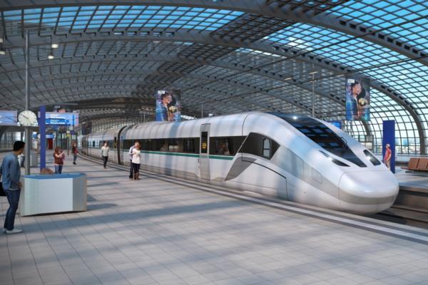 Siemens unveils high-speed train