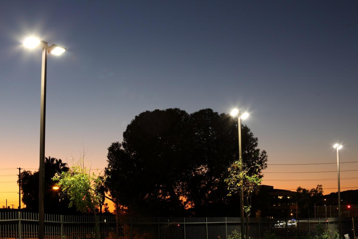 SolarMax LED's lighting technology runs over a Cisco wireless network
