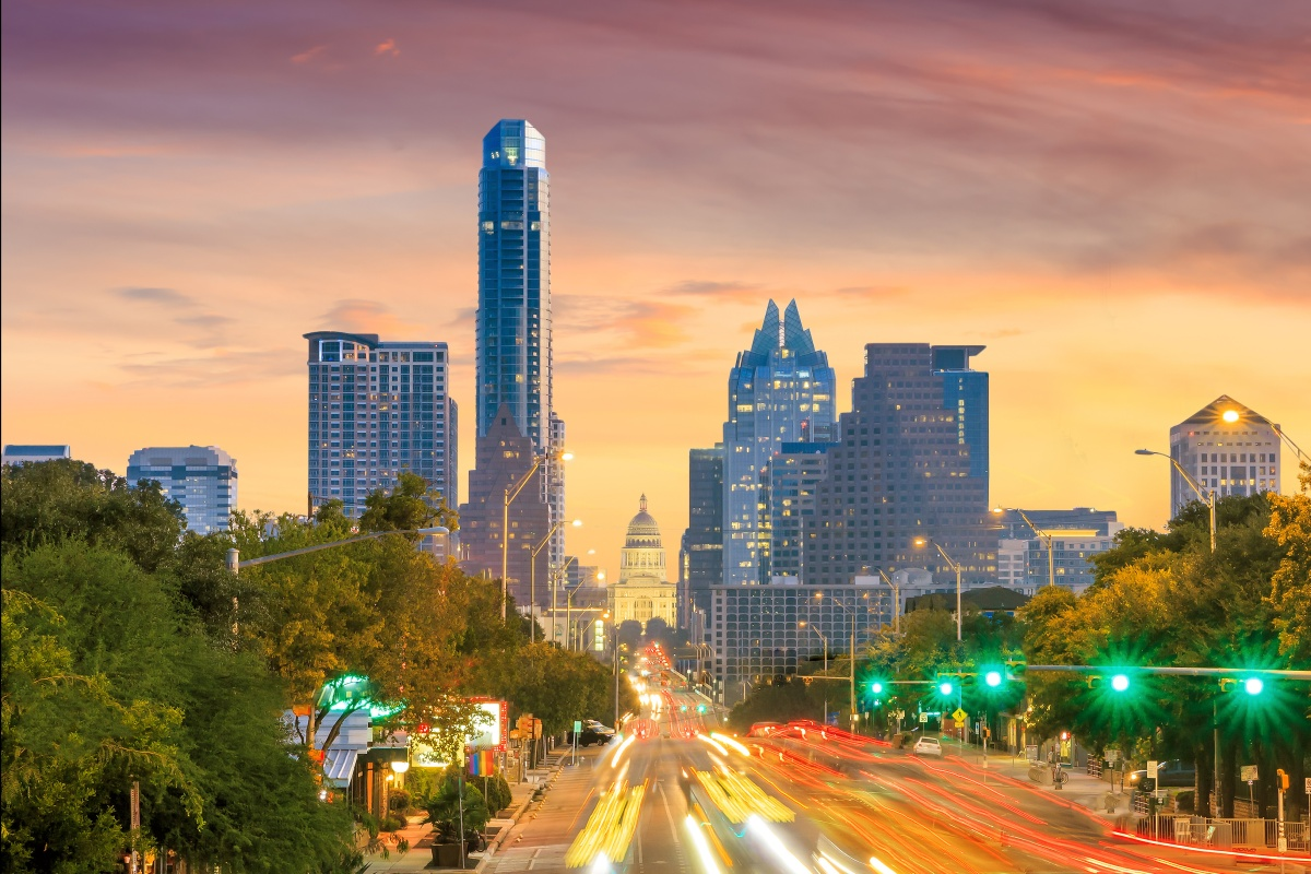 Austin is one of the cities in the alliance and has developed a Smart Mobility Roadmap