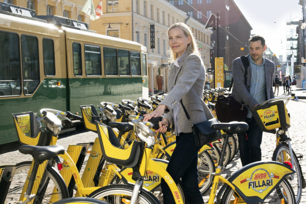 Helsinki is one of the top cities internationally for cycling