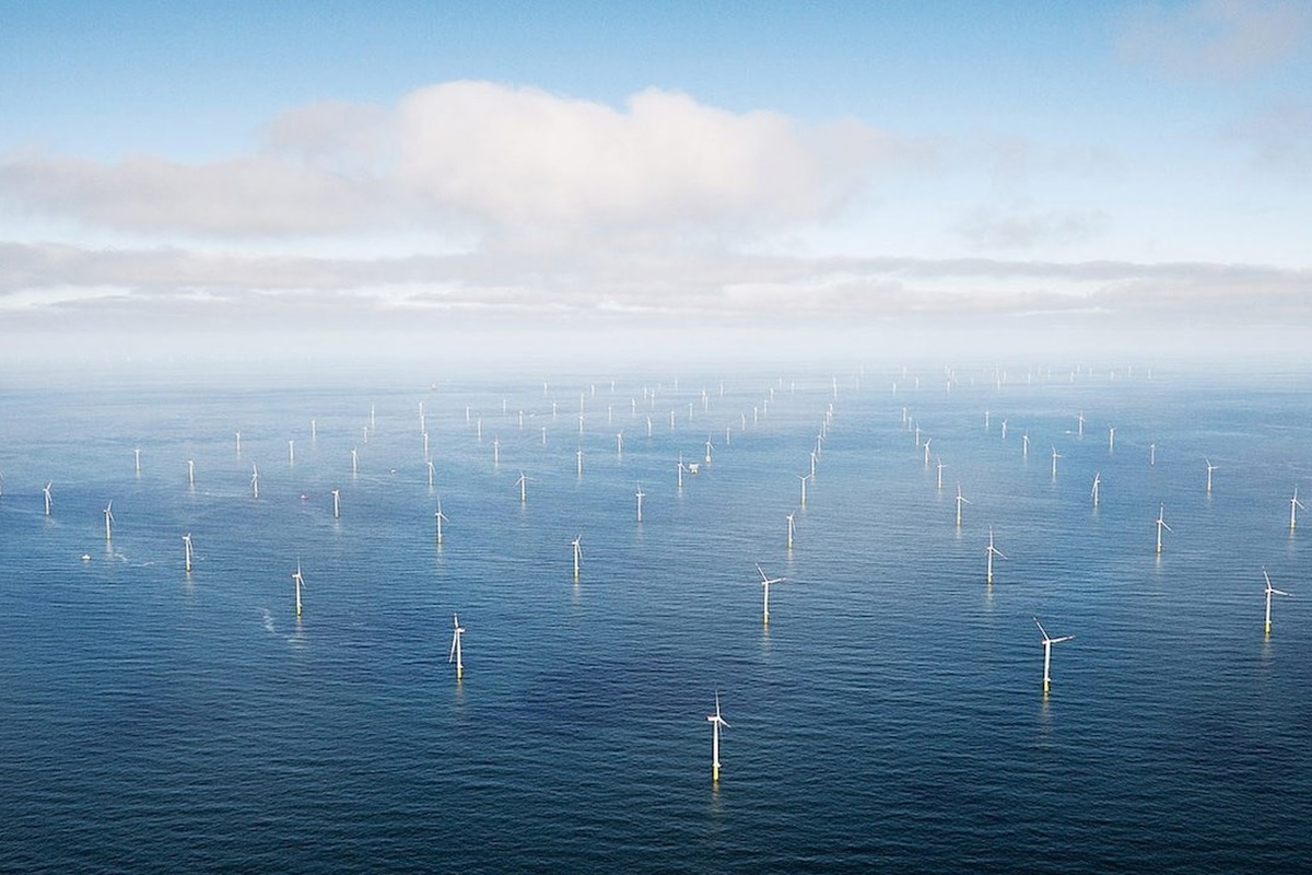 Hornsea Project Two, the world's largest offshore wind farm in the North Sea