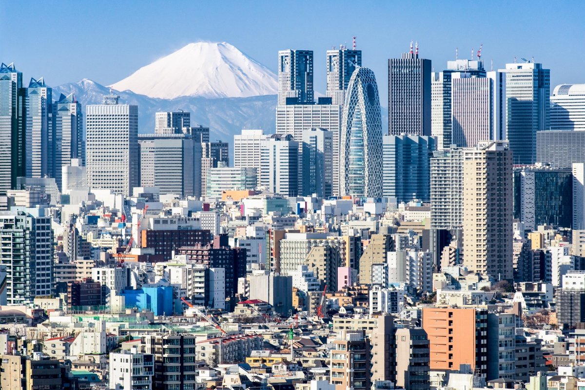 Tokyo is one of the cities that leads smart city investment for 2018