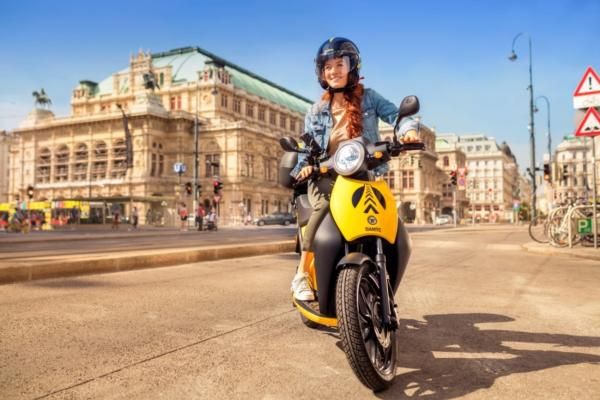 e-scooter-sharing arrives in Vienna
