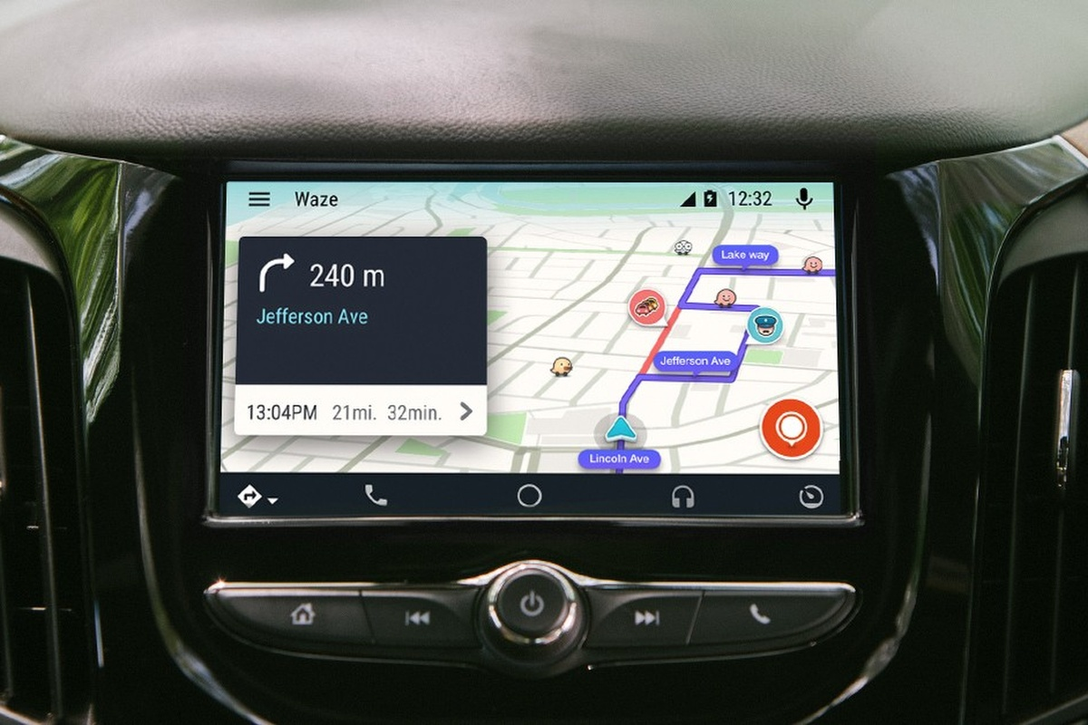 Waze is a free, crowdsourced traffic and navigation app
