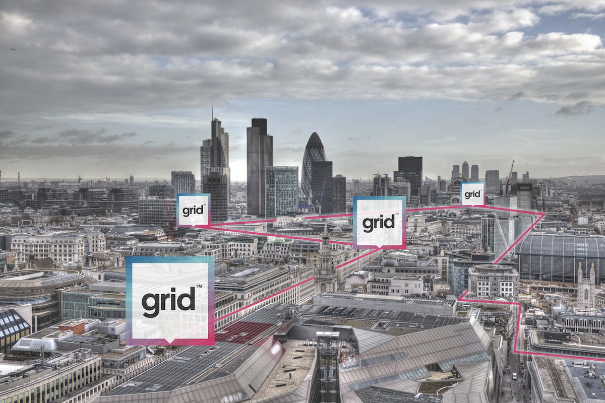 Grid's kerb solution aims to help manage the finite amount of kerb space in a city centre