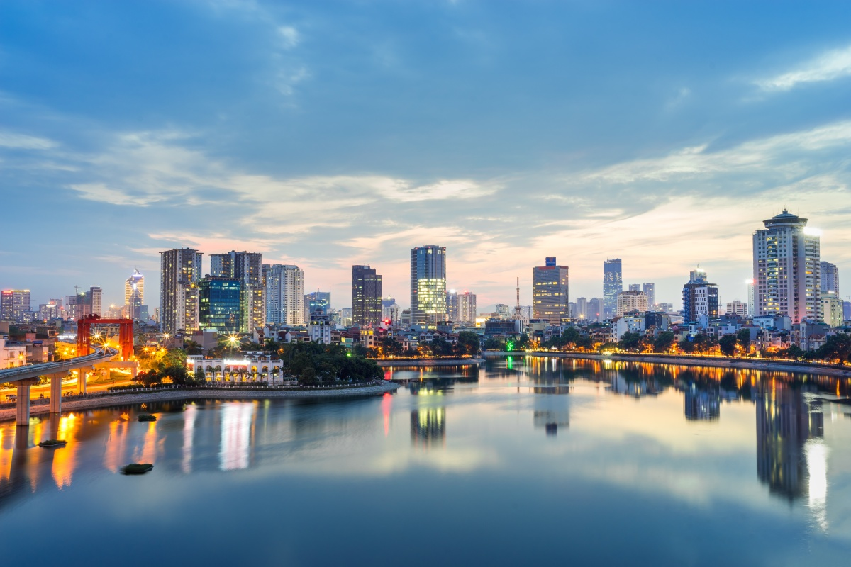 Vietnamese government wants to make urban areas like Hanoi smarter for citizens